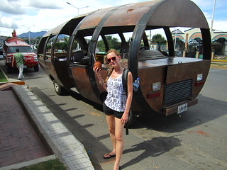 Our limo for the tequila tour. Tequila, Mexico.