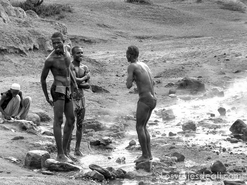 lagos de etiopia fuentes termales del lago Shala