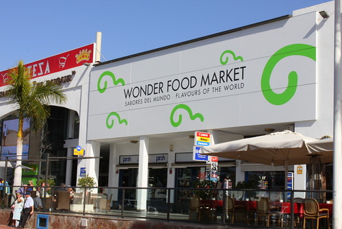 Wonder Food Market in Costa Adeje