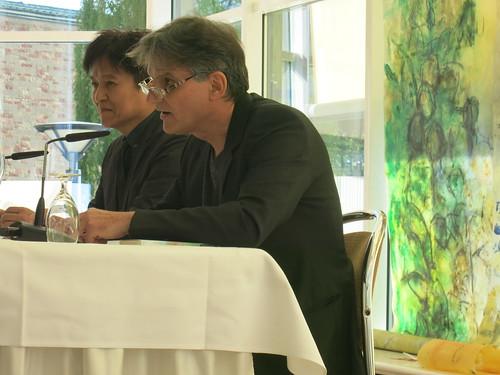 Takashi Haraide und Peter Giacomuzzi