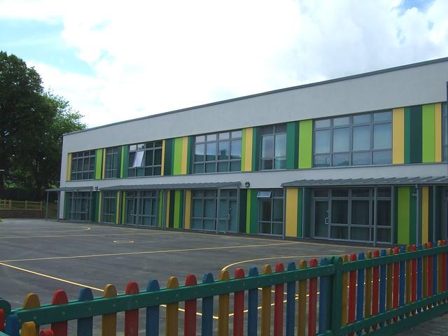 Burlais Primary School build