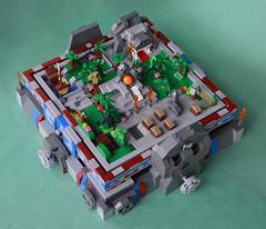 Escape from the Jungle Temple - Aztec Maze 1