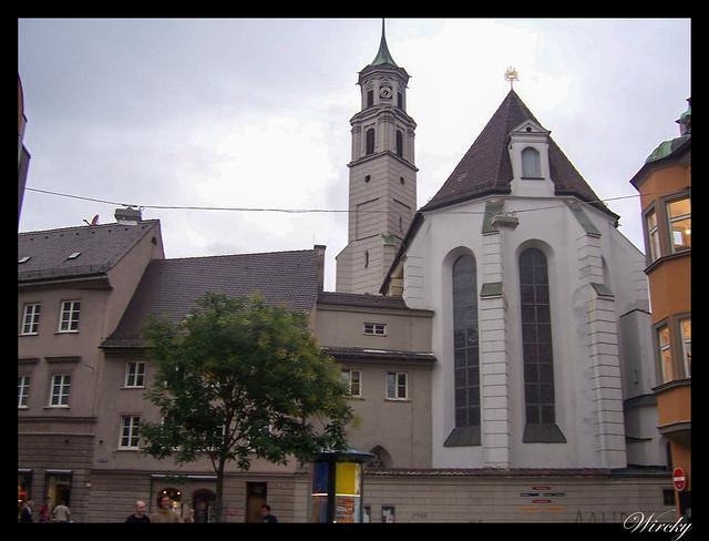 Que ver en Augsburgo en un día - Iglesia Santa Anna