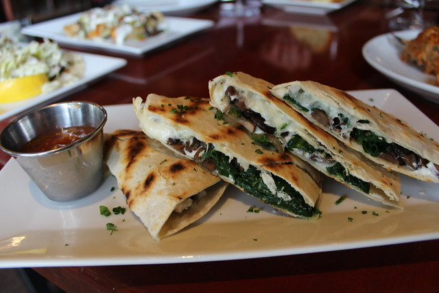 Mushroom Quesadilla at Melville Tavern