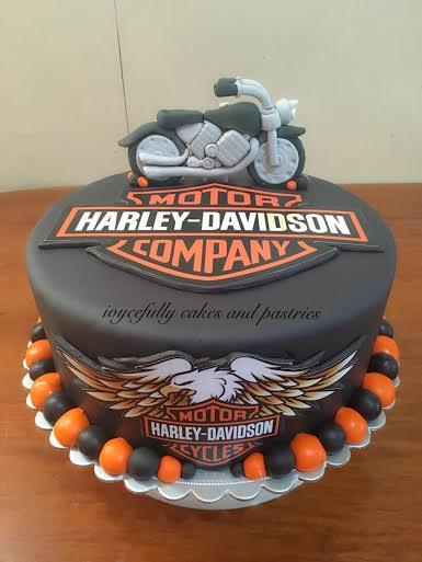 Harley Davidson Inspired Cake by Joyce Ann Monsod