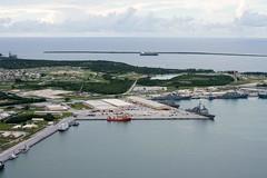 160926-N-NT265-102 APRA HARBOR, Guam (Sept. 26, 2016) Carrier Strike Group Five ships including, USS Ronald Reagan (CVN 76), USS Barry (DDG 52), USS Benfold (DDG 65), USS Chancellorsville (CG 62), USS Curtis Wilbur (DDG 54), USS McCampbell (DDG 85) as wel