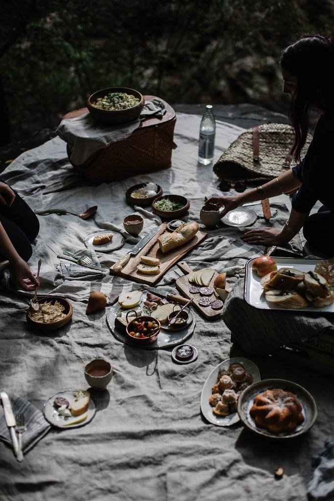 公路旅行:阿巴拉契亚野餐
