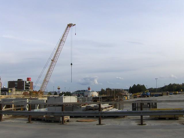 Hämeenlinnan moottoritiekate ja Goodman-kauppakeskus: Työmaatilanne 22.9.2012 - kuva 4