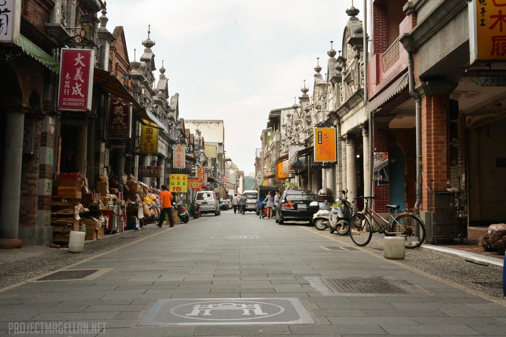 Daxi Old Street, Daxi Township, Taoyuan County, Taiwan