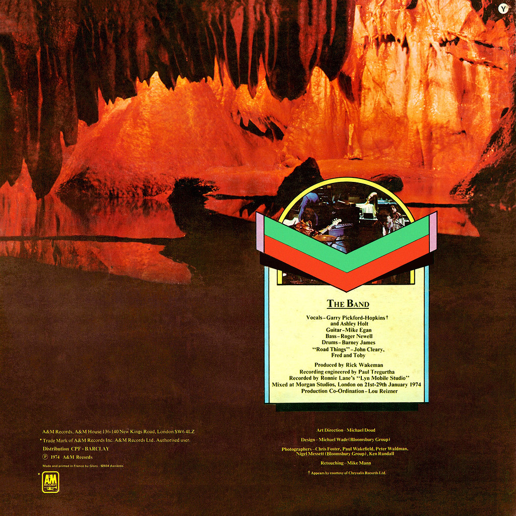 Rick Wakeman | LP Cover Art