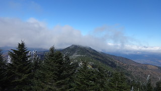 Mt Craig seen from Mt Mitchell summit
