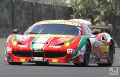 ferrari 458(0.0), ferrari f430 challenge(0.0), race car(1.0), automobile(1.0), vehicle(1.0), stock car racing(1.0), performance car(1.0), automotive design(1.0), ferrari s.p.a.(1.0), race track(1.0), land vehicle(1.0), luxury vehicle(1.0), coupã©(1.0), supercar(1.0), sports car(1.0),