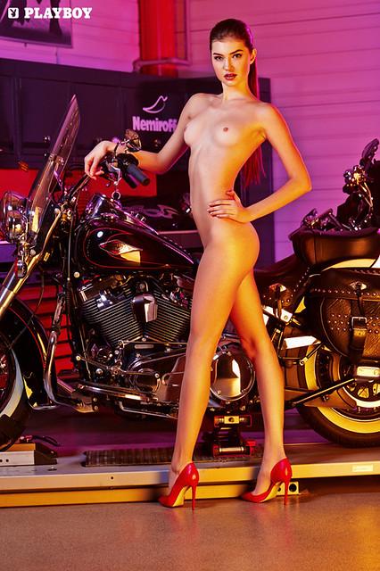 Playboy Harley-Davidson Calendar 2015