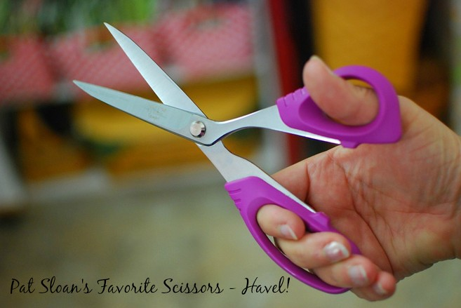 pat sloan day 5 of 12 days of giveaways havel scissors