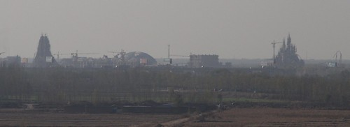 Fake Disneyland being built to the north of the city of Jinan in Hebei province