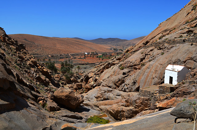 View from Ermita de las Peñas, Fuerteventura