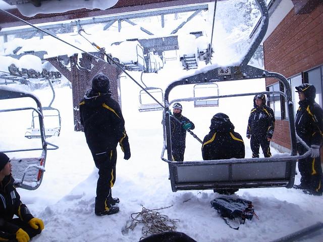 研修 Day2 - リフト救助訓練