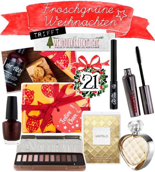Froschgrüne Weihnachten, Blogger-Adventskalender, Türchen 19