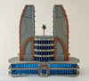 Double Tower Sci-Fi Building - 285CSS051