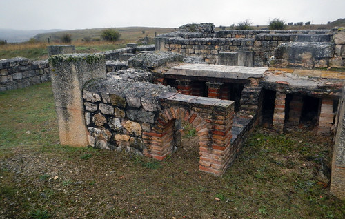Roman Bathhouse at Clunia in Spain