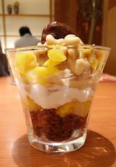 meal(0.0), breakfast(0.0), trifle(0.0), parfait(1.0), sundae(1.0), produce(1.0), food(1.0), verrine(1.0), dish(1.0), dessert(1.0), cuisine(1.0), mascarpone(1.0),
