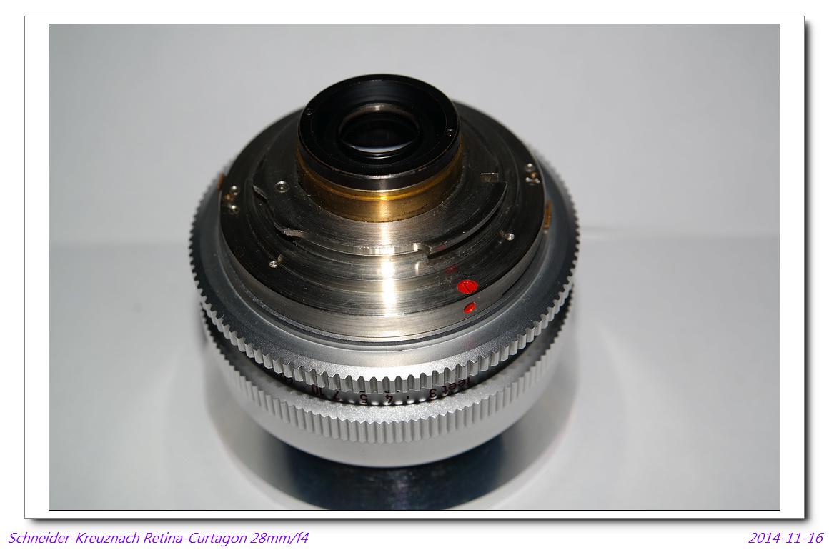 Schneider-Kreuznach Retina-Curtagon 28mm/f4(DKL)~