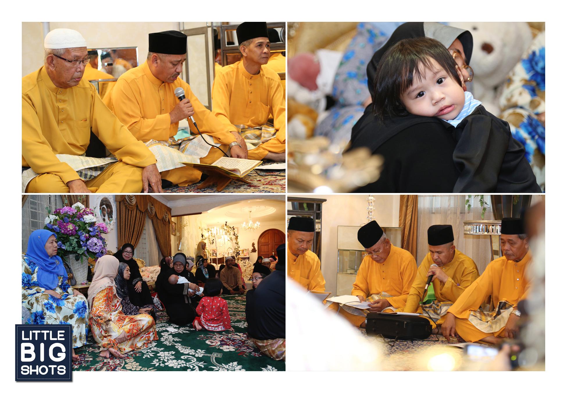 Majlis Tahnik & Aqiqah Muhammad Lut Ayden