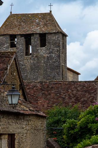 Church Tower, Liorac-sur-Louyre, Perigord