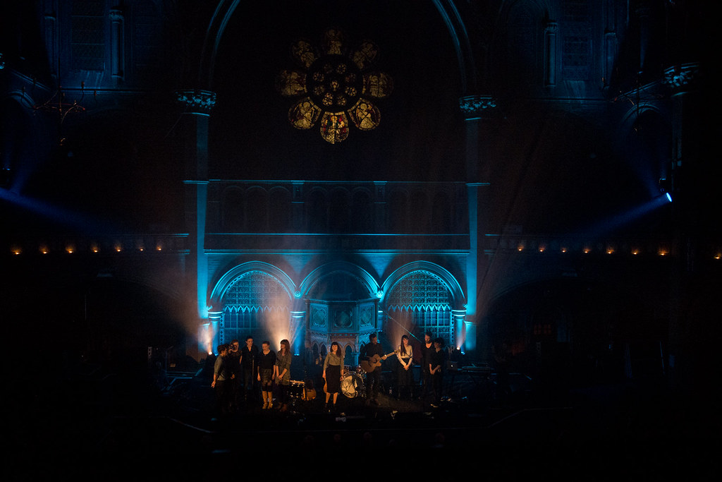 Paper Aeroplanes at the Union Chapel