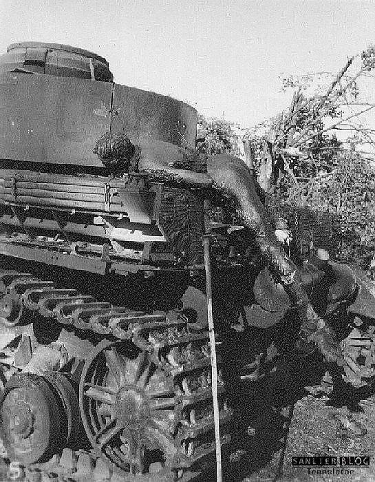 坦克战:活活烧死13