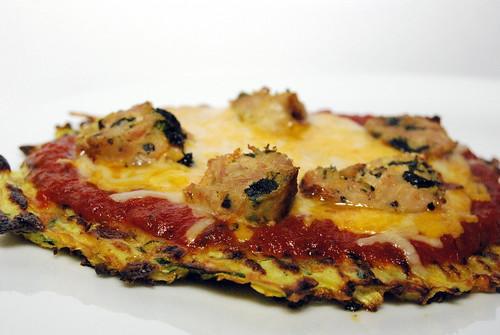 WPIR - Zucchini Crust Pizza