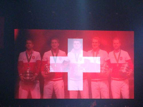 Swiss Cross & Entire Team