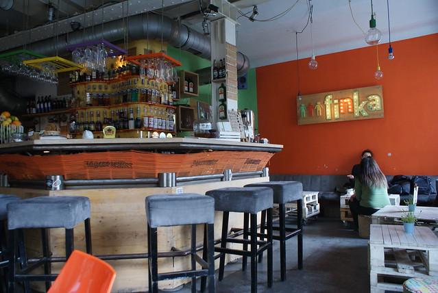 A l'intérieur de l'Entropia ex-Klub Finka à Cracovie