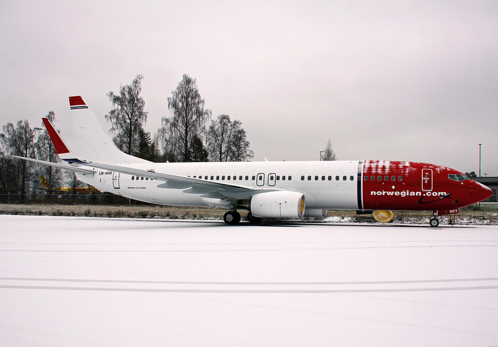 LN-NIH - B738 - Norwegian