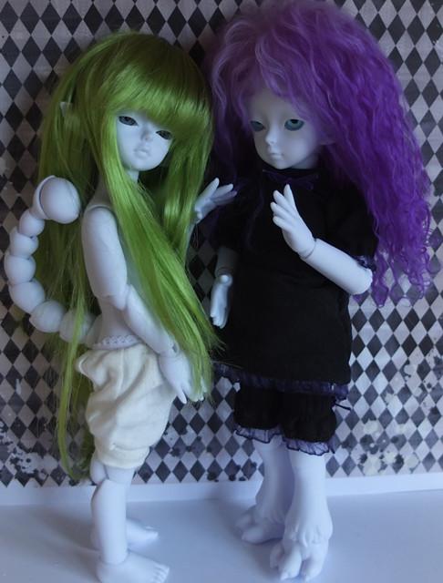 siblings from soom( soom silky med en ekstra krop til fantasy hovedet) 15726181292_330ffb4d6d_z