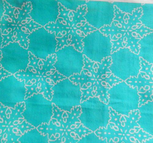 Tiffany Blue Snowflakes