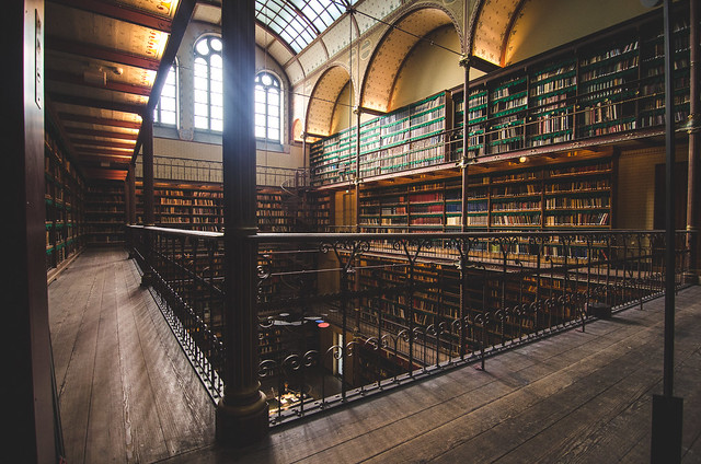 Do not miss the stunning Cuypers Library.