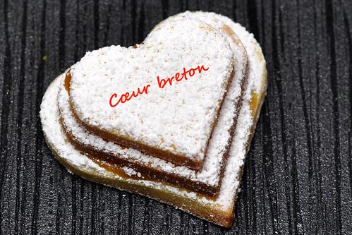 Bretonische Herzen Karamellcreme Cœurs bretons au crème de caramel au beurre salé Rezept Foto Brigitte Stolle