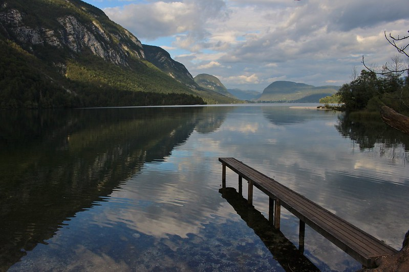 Lake Bohinj dock