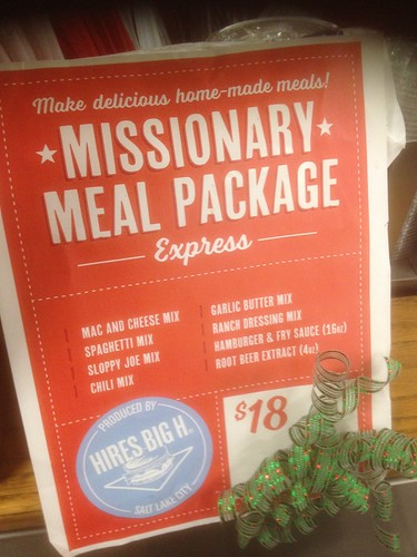 Missionary Meal Package