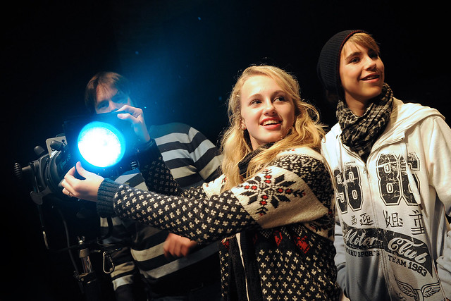 Lighting training, one of the opportunities to be available at the new National College for the Creative and Cultural Industries © Backstage Centre, 2014