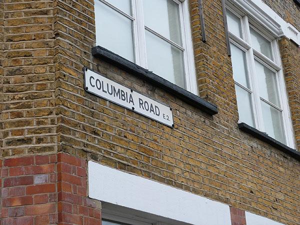 Dans Columbia Road, London