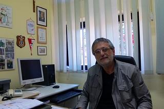 Noicattaro. Il Dirigente Scolastico Cataldo Olivieri front
