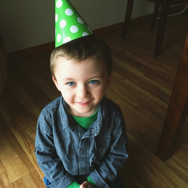 4 year olds don't get much cuter than this. Happy birthday, Cole! I love you ❤️