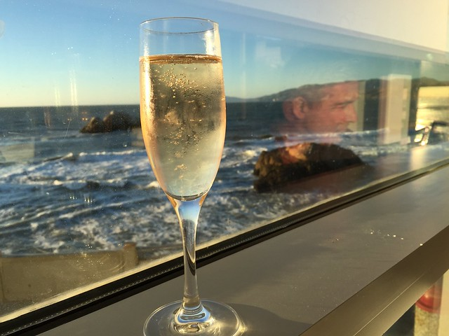Gloria Ferrer sparkling wine - Sutro's at The Cliff House