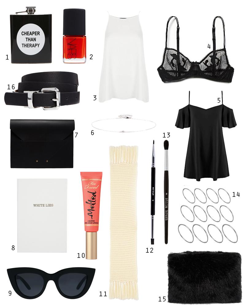 ASOS Under $100 Christmas Wishlist Shopping Blogger Fashion