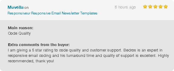 Responsiveur Responsive Email Newsletter Templates