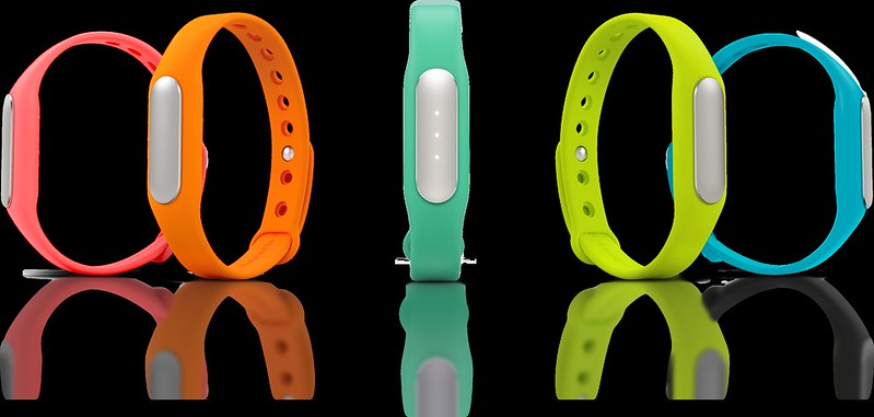 Xiaomi's Mi Band - Colors