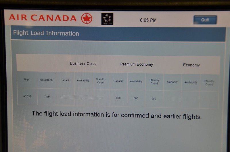 """Experiencing flying as a """"non-rev"""": Traveling Standby to"""