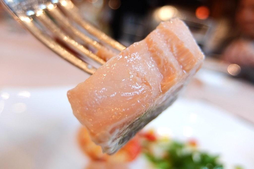 魚肉很厚啊!